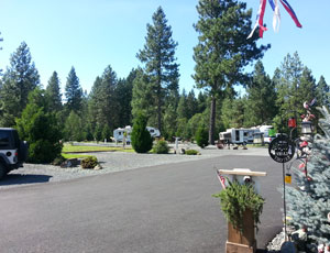 Lone Mountain RV Resort & Tipi Cpg - Picture 2