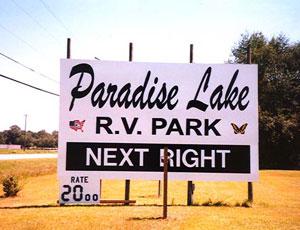 Paradise Lake RV Park - Picture 1